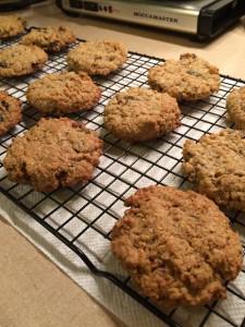 Oatmeal raisin pecan toasted coconut whole wheat chai. Good cookies.
