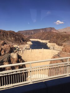 Hoover Dam, from the highway