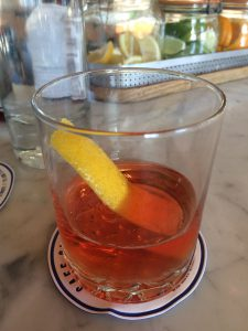 A really good sazerac